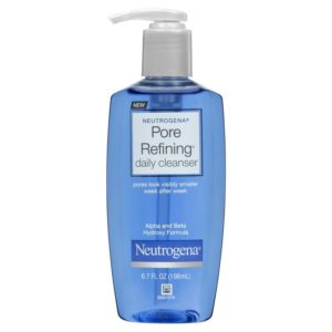 Pore Refining daily cleanser