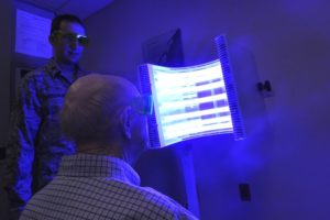 Blue Light Therapy Treatment